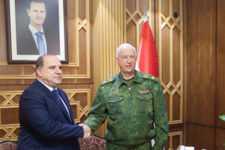 التقى بمملوك.. مسؤول روسي في سوريا لمتابعة التحقيق في مقتل عسكريين روس