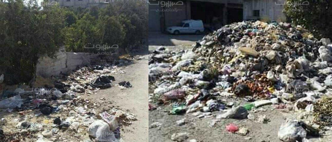 انتشار كبير لمرض اللشمانيا في الغوطة الشرقية، والنظافة العامة خارج خطط المحافظة