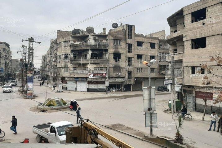 عصابة سرقة تستهدف مدارس سقبا في الغوطة الشرقية