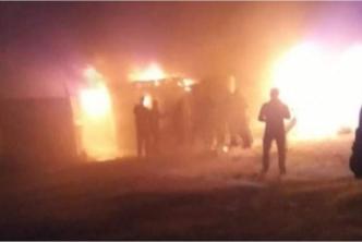 حريق في مخيم الزعتري بالأردن يودي بحياة طفل سوري لاجئ