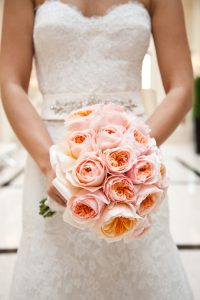 Juliet roses bridal bouquet in dubai
