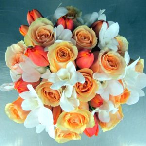 Floral Fancy Bridal Bouquet IN dUBAI sHARJAH