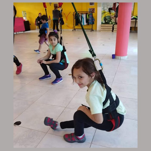 Bungee workout - Acro- Dance
