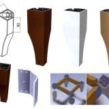 Мебелен крак модел 5024
