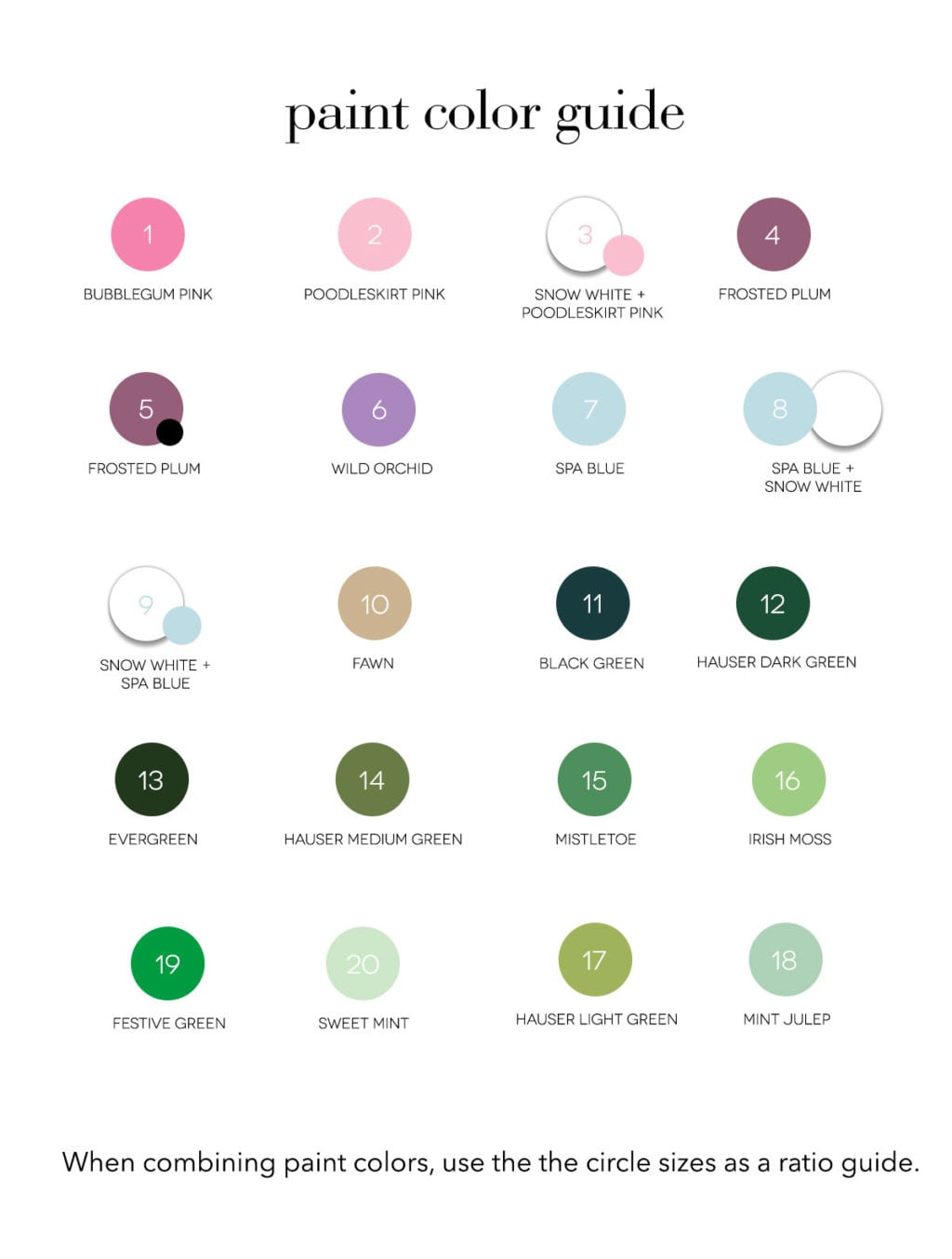 Printable Paint By Number