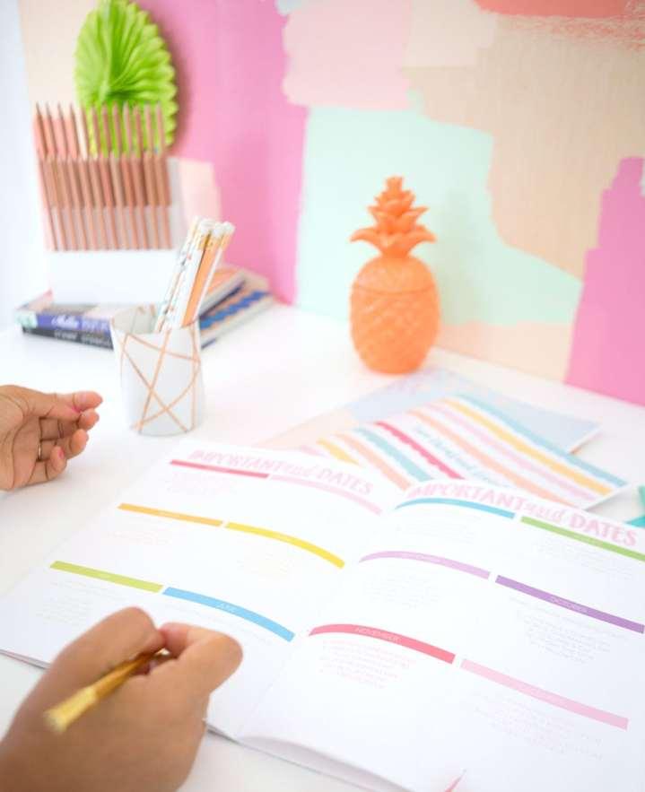 Free Printable Agenda Calendar | damask love