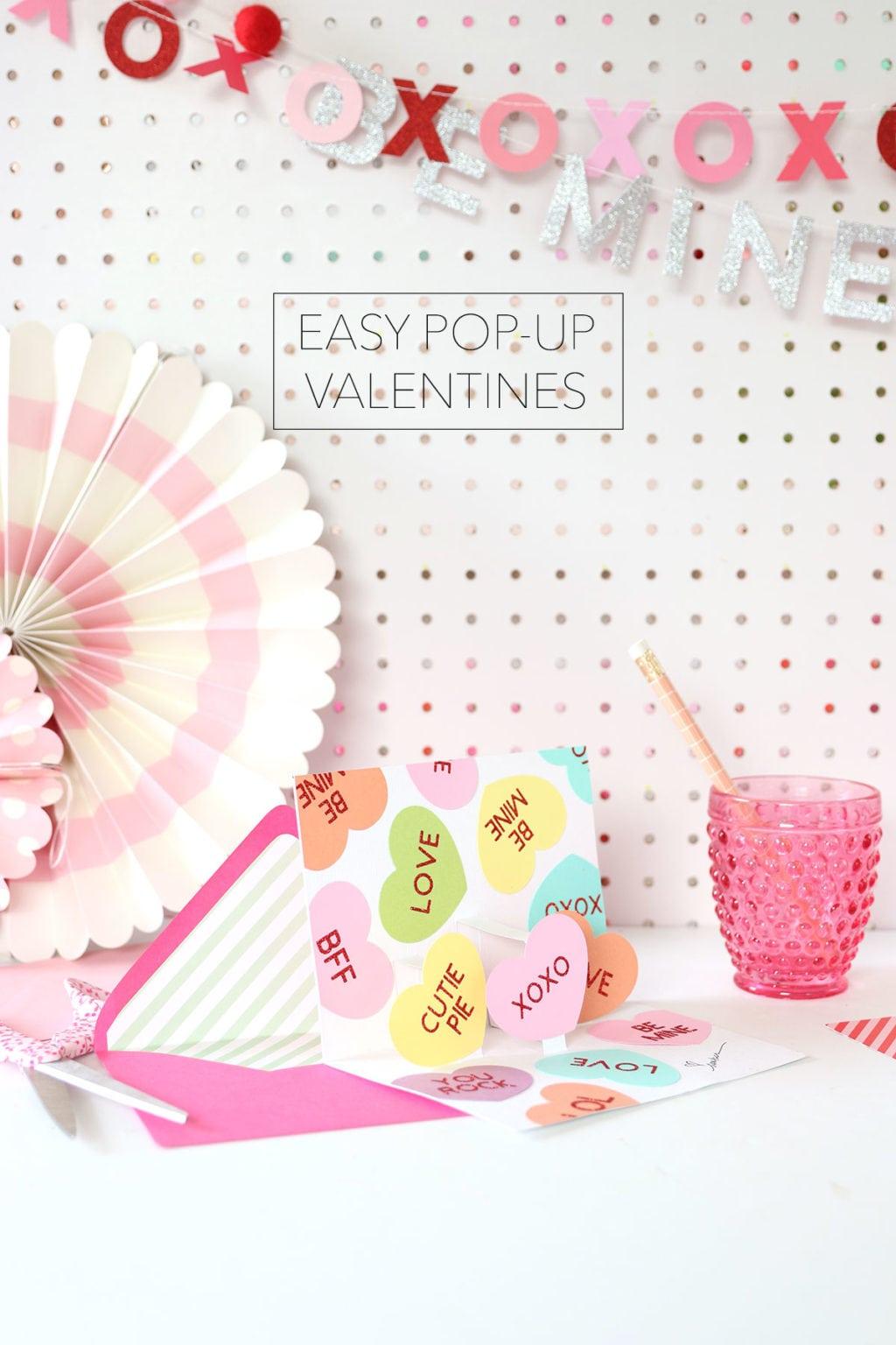 Easy Diy Pop-Up Valentine's Day Cards