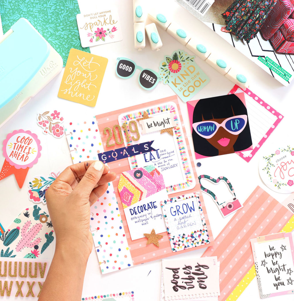 How To Make A Planner Vision Board