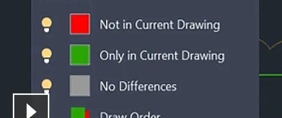 Vídeo: Identifique las diferencias que existen entre dos versiones de un dibujo o una referencia externa