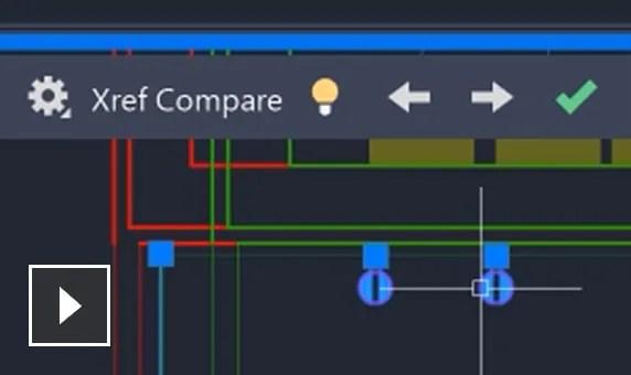 Vídeo: Repase los cambios realizados en el archivo de dibujo enlazado como referencia externa
