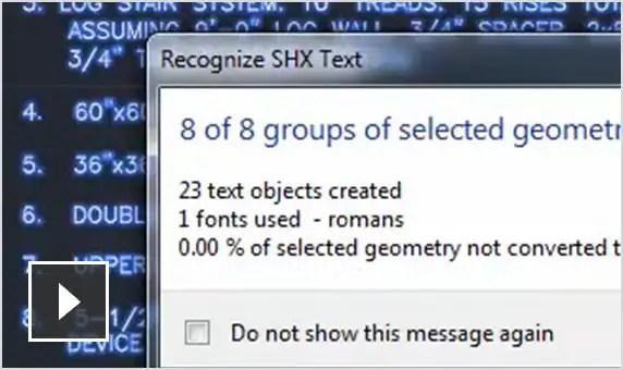 Film: Importowanie geometrii (w tym tekstu SHX), wypełnień, obrazów rastrowych i tekstu TrueType do rysunku z pliku PDF.