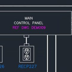 Single Line Diagram Autocad Electrical Manual Typewriter Parts Toolset | Design Software