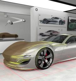 a glimpse into the car design studio of the future [ 1920 x 1000 Pixel ]
