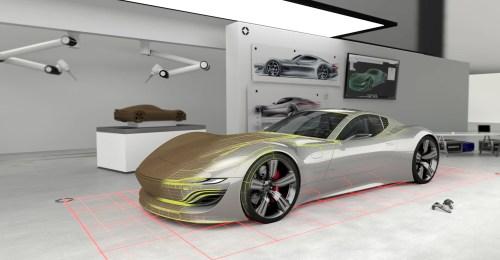 small resolution of a glimpse into the car design studio of the future