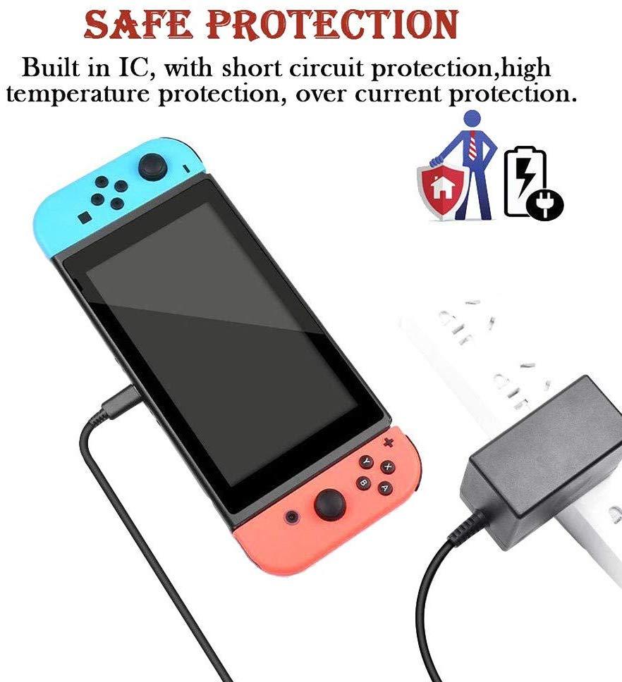 だま屋 / 任天堂スイッチ Nintendo switch 充電器 AC充電アダプタ 互換品 USB-C 充電ケーブル スウィッチ