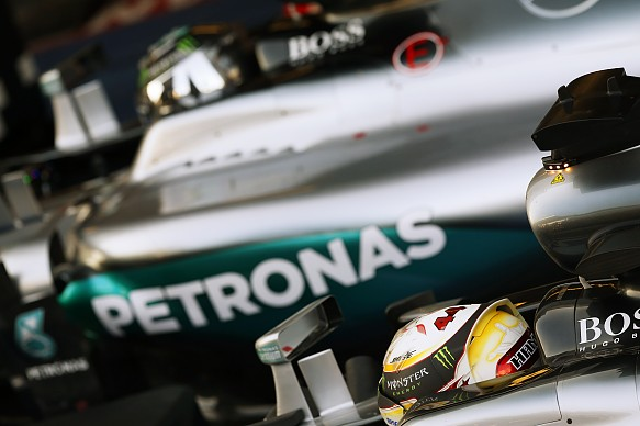 Lewis Hamilton, Nico Rosberg, F1 2016 Mercedes