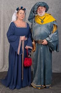 Vêtements Du Moyen Age Pour Les Nobles : vêtements, moyen, nobles, Licorne, Chartres, Costumes, Nobles, Moyen-âge, Siècle