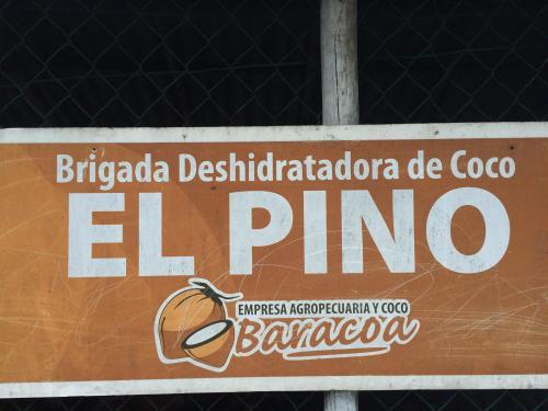 Brigada Deshidratadora de coco el pino baracoa cuba