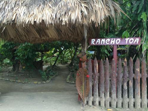 Entrance to Rancho Toa Baracoa, Cuba