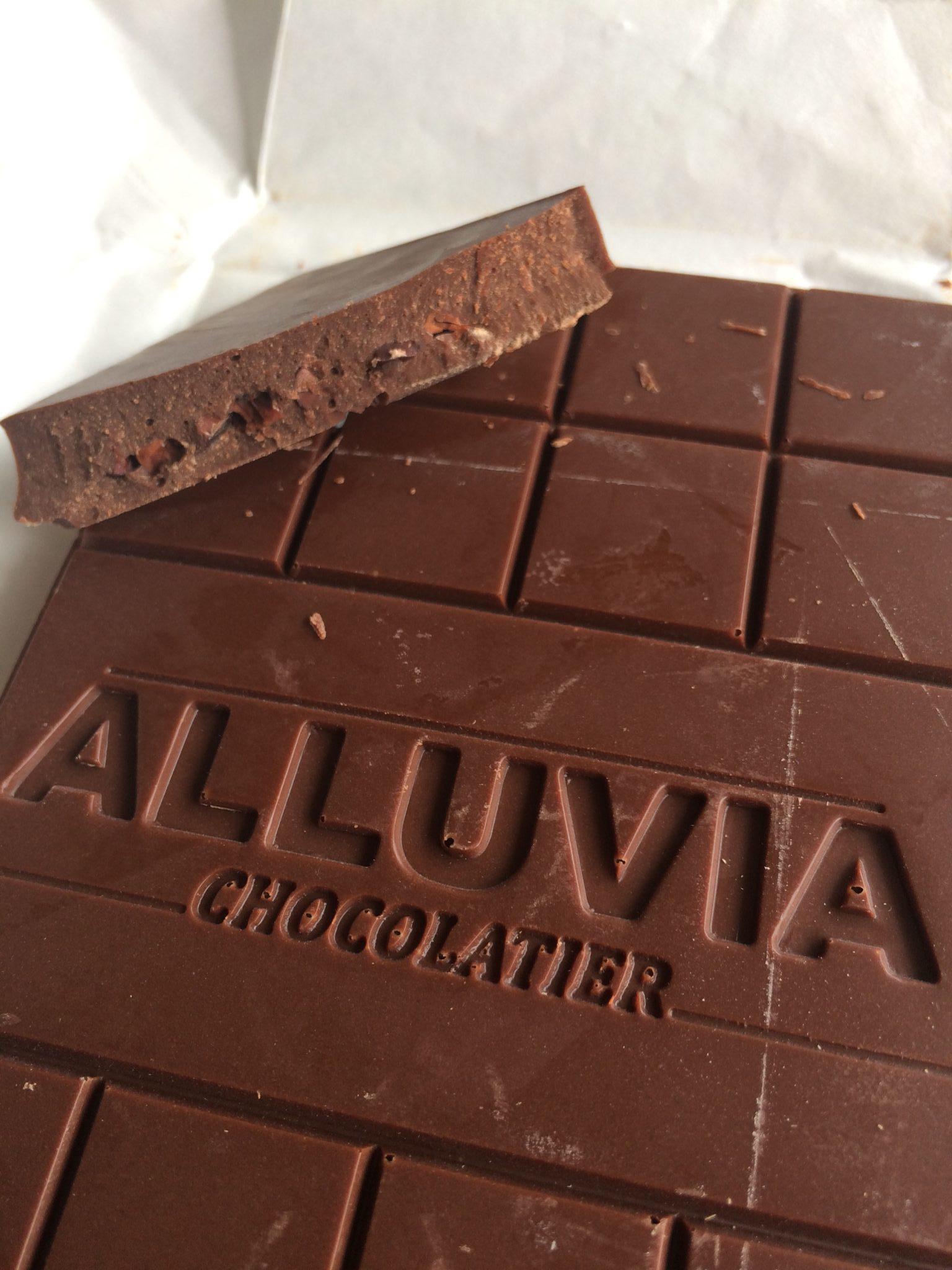 Alluvia Chocolatier Vietnamese Cacao Bean to Bar Dark Chocolate Nibs Close-up