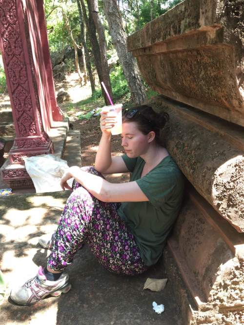 Cambodia Exhausted Temples Relaxing