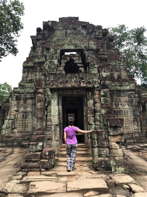 Angkor Wat Cambodia Siem Reap Behind