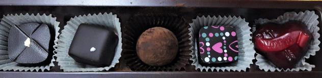 Schokolake Chocolate truffles box
