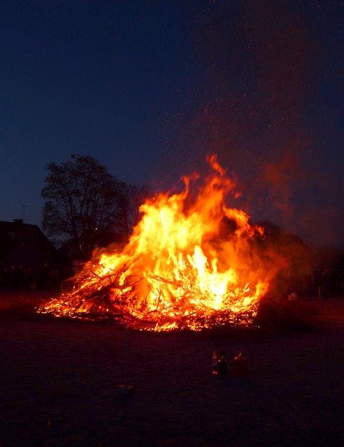 Walpurgis Eve Bonfire