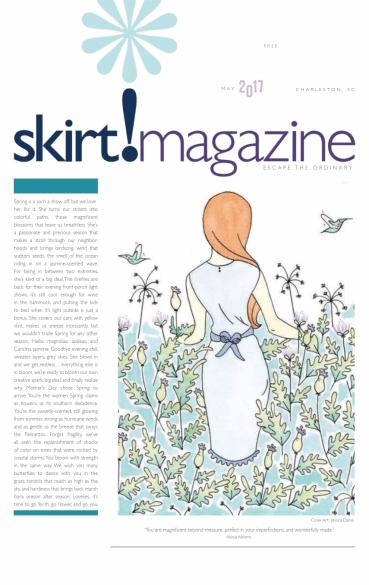 Skirt! Magazine Cover May 2017