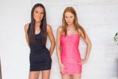 Ruské holky Lindsey Olsen a Nataly Gold: Hrátky s penisem