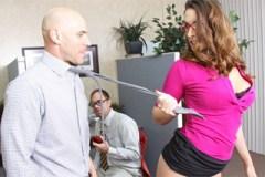 Paige Turnah a Johnny Sins: Rozlučkový sex s kolegou!