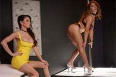Majitelka nočního klubu s novou striptérkou (Jessica Jaymes a Liv Revamped)