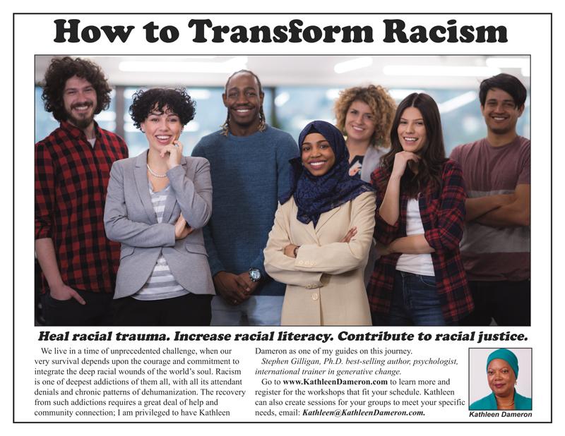 Transform Racism Ads