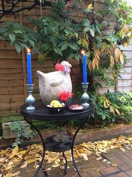 Chicken shrine/damesnet