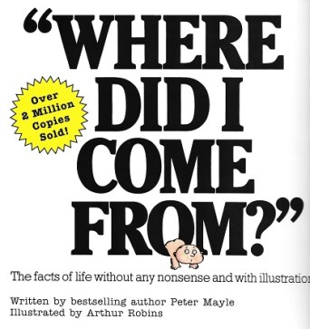 Where Did I Come From?/Peter Mayle/Arthur Robins/Macmillan Press