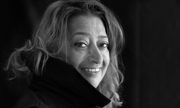 Zaha Hadid / The Guardian.com