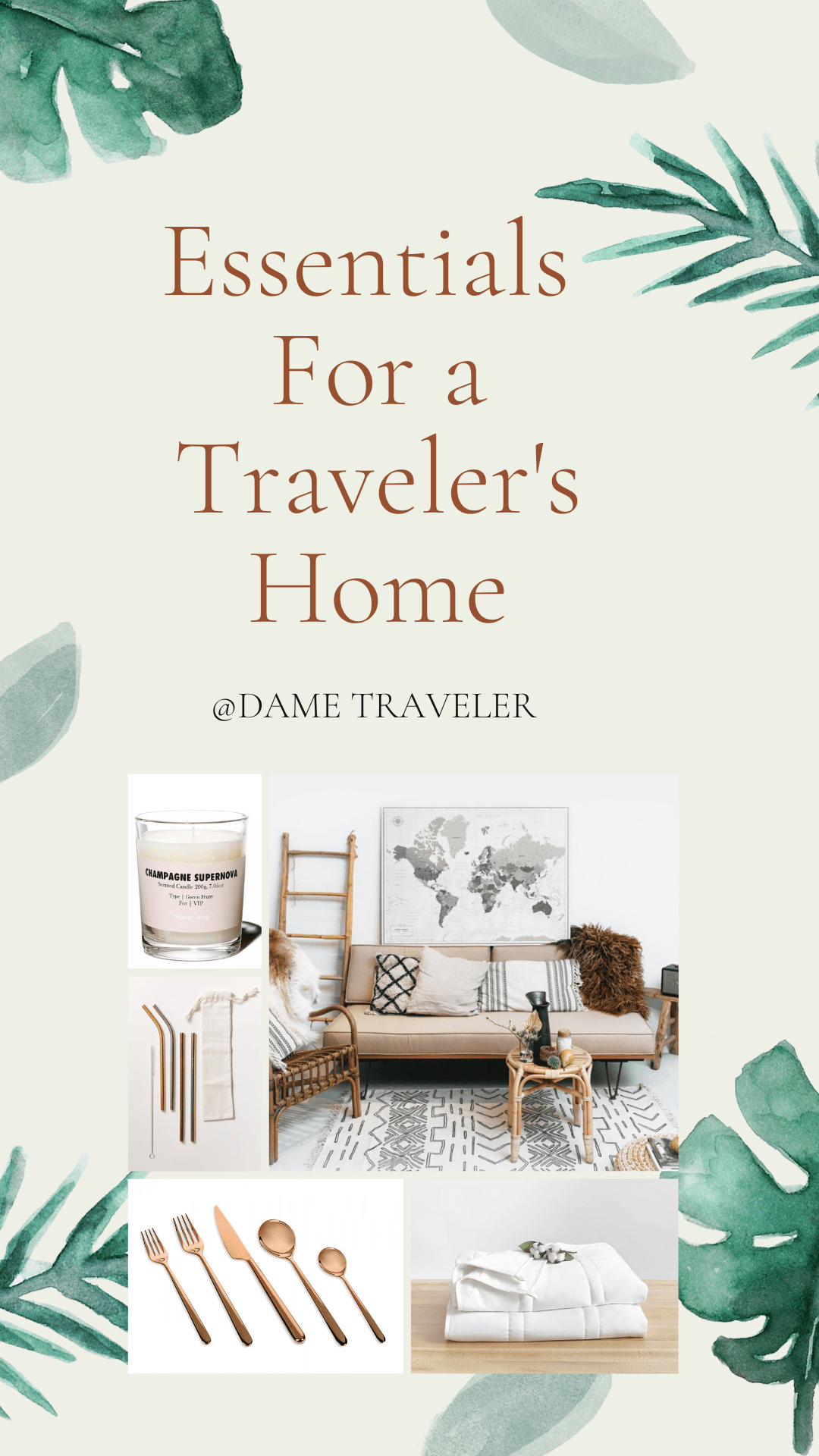 Essentials For a Travelers Home