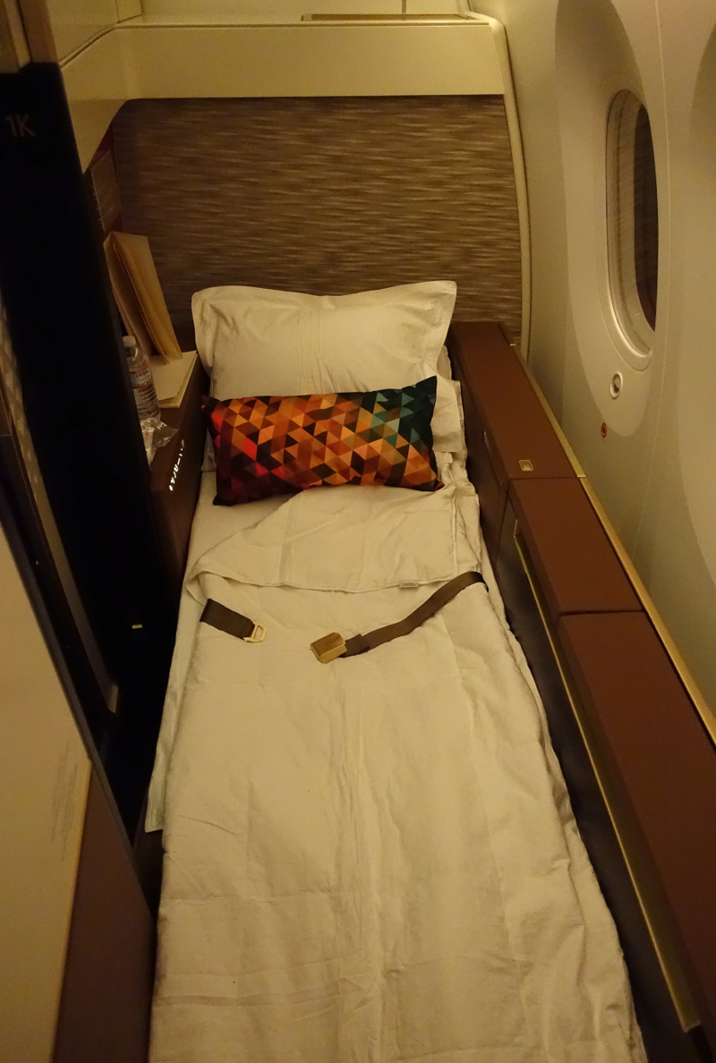 Etihad First Class 7879 Review