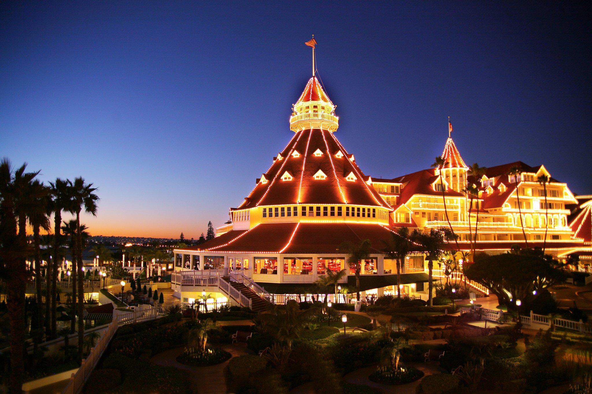 San Diego Hotel Del Coronado Christmas