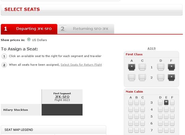 Virgin america website problems unable to upgrade online although seats available also rh travelsort