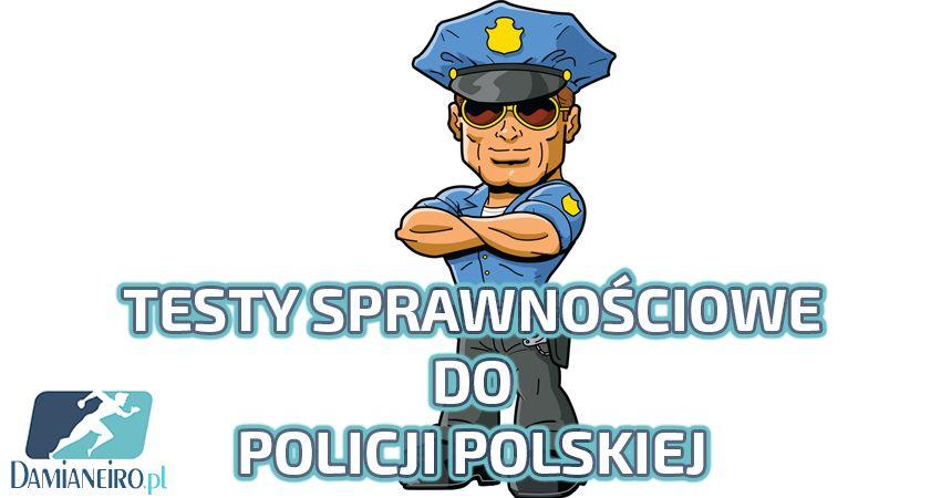 Przygotowanie pod test sprawnościowy do Policji