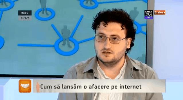 Digi24 Craiova - Cum sa lansam o afacere pe internet