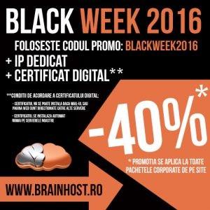 BrainHost Black Week 40% Off