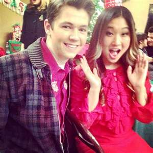 Damian and Jenna on Glee