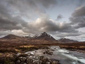 Meall a' Bhùiridh Glen Coe, Scotland. Landscape Photography