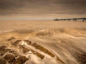 Clevedon pier Landscape Photography