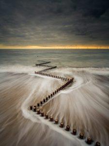 Groyne Caister-on-Sea Norfolk Landscape Photography