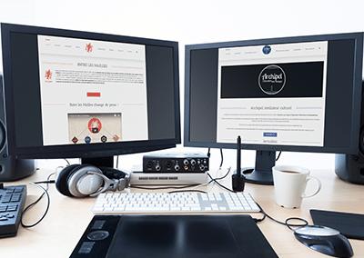 Webmastering pour Entre les mailles