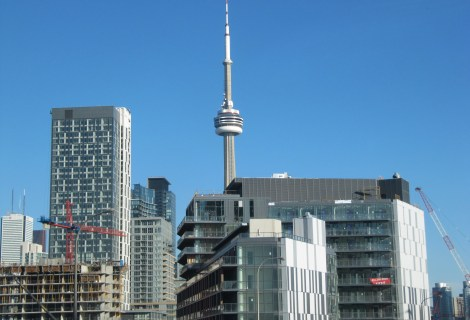 CN Tower View In Toronto