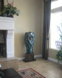 Indoor Fountains - DamienJonesArt - Fountain Sculptures